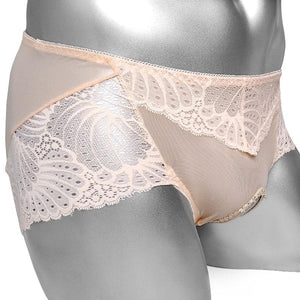 Open Crotch Lace Panties Sissy Panty Shop