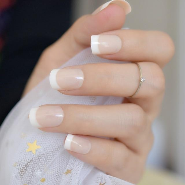French Manicure Faux Nails Sissy Panty Shop b