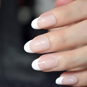 French Manicure Faux Nails Sissy Panty Shop