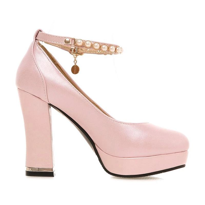 """Sissy Amy"" Square Heel Pumps Sissy Panty Shop"
