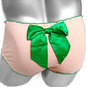 """Sissy America"" Bowknot Briefs Sissy Panty Shop Orange One Size"