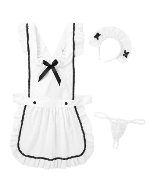 Sissy Maid Apron Dress