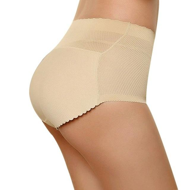 Butt Enhancing Padded Panties Sissy Panty Shop Beige L