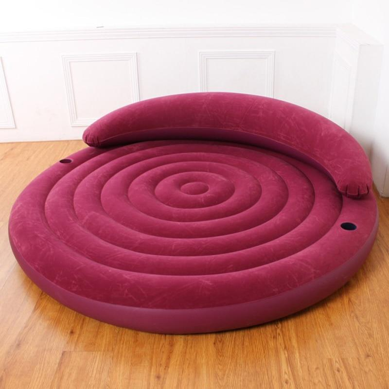 Inflatable Circular Sex Bed Sissy Panty Shop