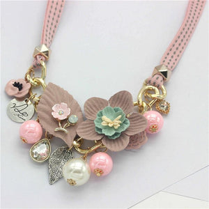 """Sissy Lola"" Flower Necklace Sissy Panty Shop"