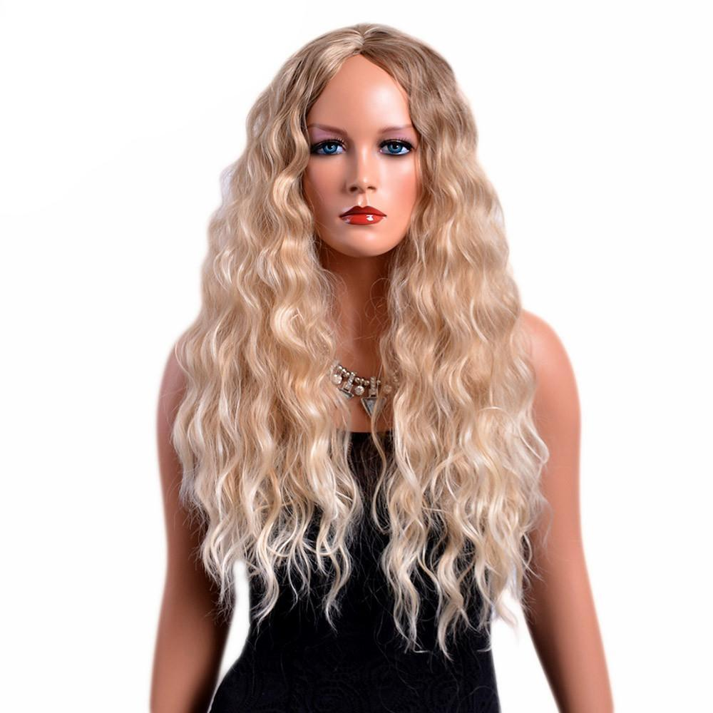 """Sissy Jane"" Long Curly Wig"