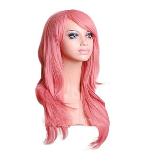 """Sissy Penelope"" Long Wig The Sissy Panty Shop Pink 28 inches"