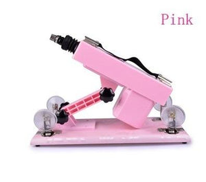 """Sissy Jenna"" Automatic Retractable Sex Machine Sissy Panty Shop pink"