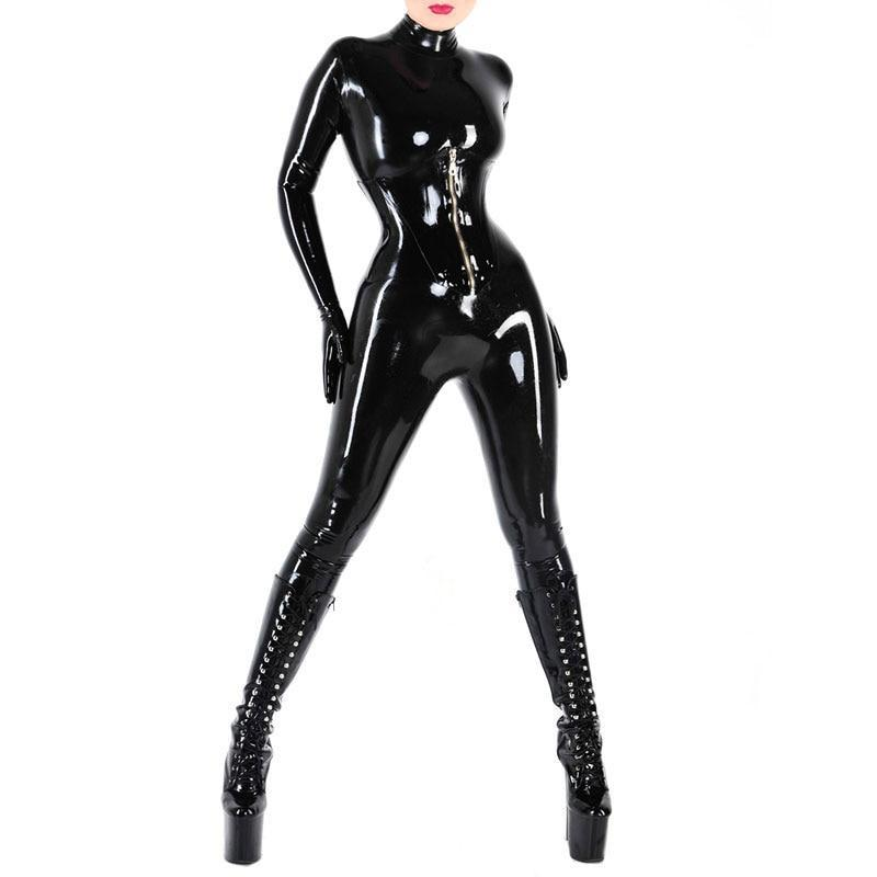 Latex Catsuit Sissy Panty Shop