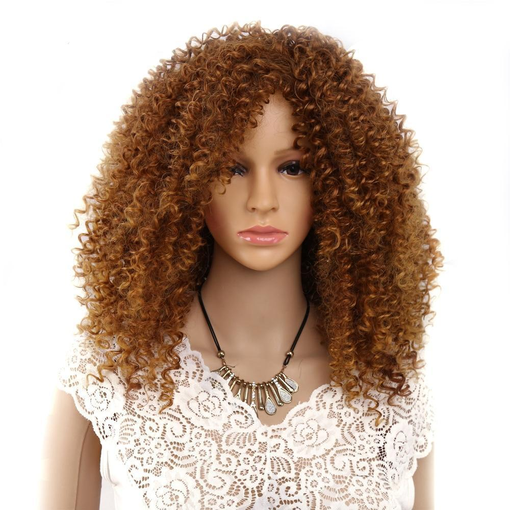 """Sissy Adalyn"" Curly Wig"