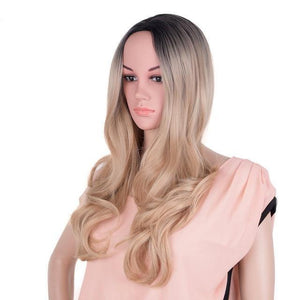 Bimbo Jane Wig Sissy Panty Shop ombre blonde 24inches