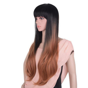 Bimbo Jane Wig Sissy Panty Shop ombre brown 3 24inches