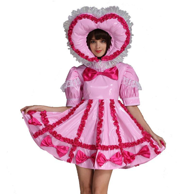 """Sissy Maid Lola"" Lockable Dress"