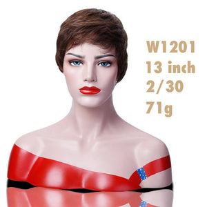 """Sissy Sandra"" Short Wig The Sissy Panty Shop #350 6inches"