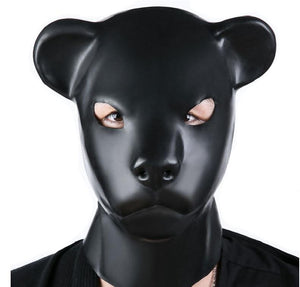 Latex Animal Mask Sissy Panty Shop