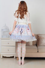 Anime Pleated Lace Trimmed Lolita Skirt Sissy Panty Shop