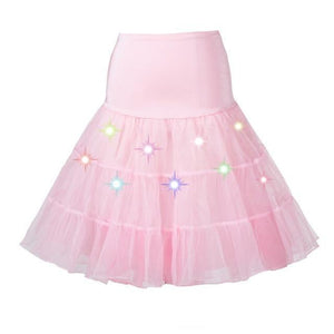 Tulle Petticoat with Lights Sissy Panty Shop sissy pink One Size