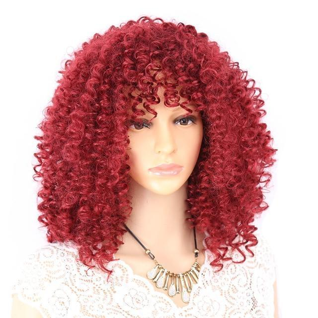 """Sissy Morgan"" Curly Wig Sissy Panty Shop Bug 18 inches"