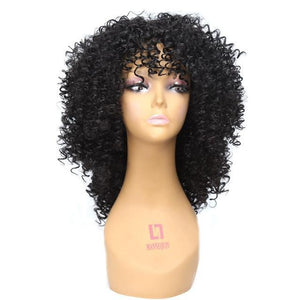 """Sissy Morgan"" Curly Wig Sissy Panty Shop #1B 18 inches"
