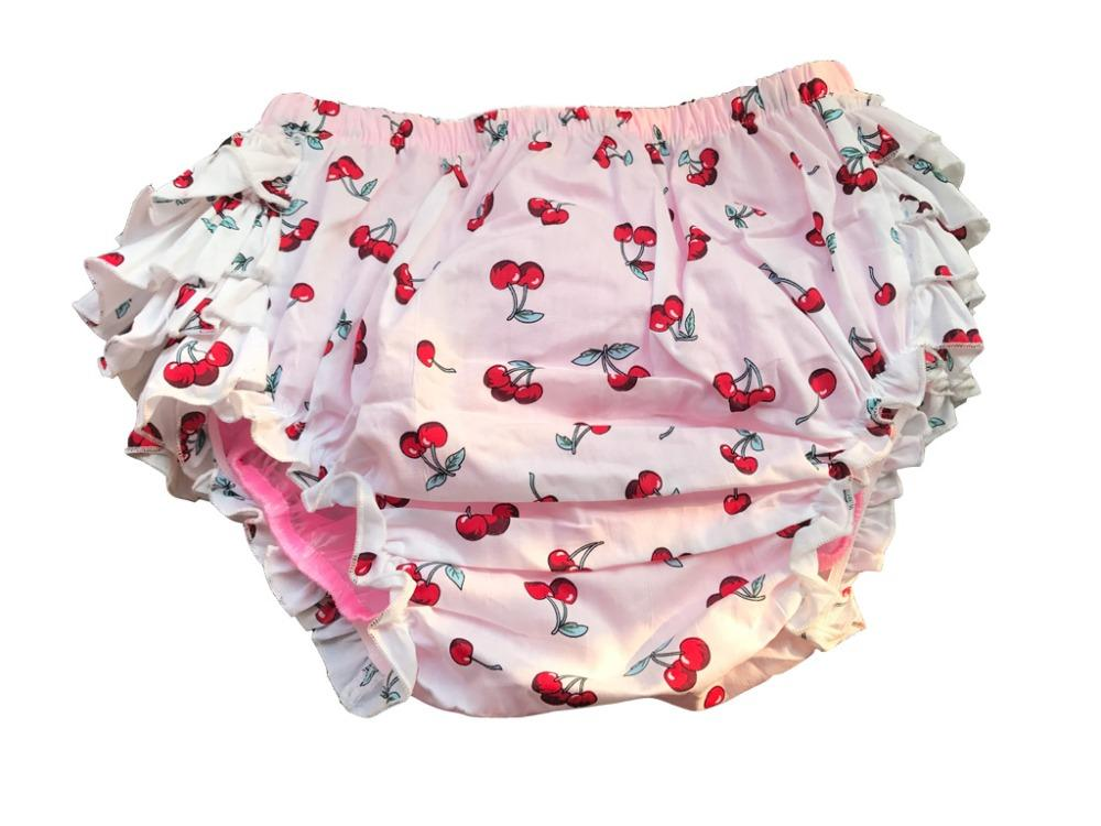 Ruffle Rhumba Pull On Adult Baby Panties ABDL Sissy Panty Shop