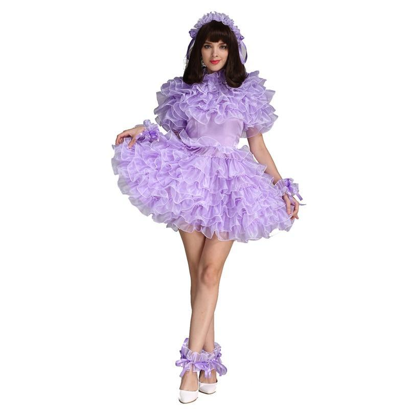 Lockable Organza Sissy Dress Sissy Panty Shop
