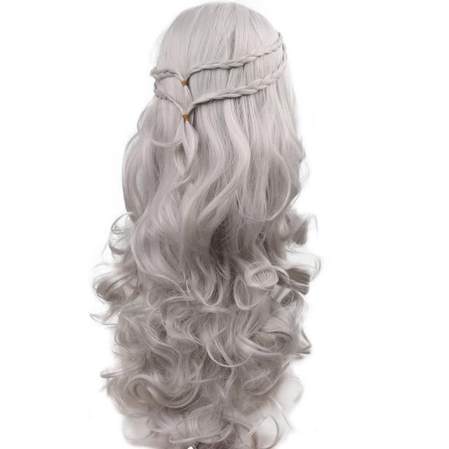 """Tranny Madison"" Wig Sissy Panty Shop Silver Grey 26 inches"