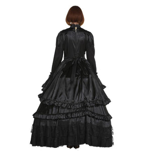 Gothic Lockable Sissy Dress Sissy Panty Shop