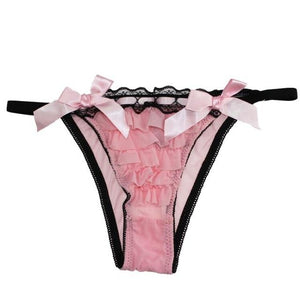 """Sissy Lolly"" Ruffled Panties Sissy Panty Shop pink M"