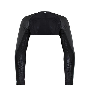 Faux Leather Shrug Sissy Panty Shop