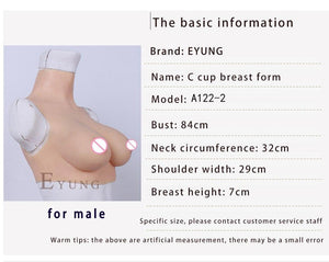 70C Cup Breast Forms Sissy Panty Shop