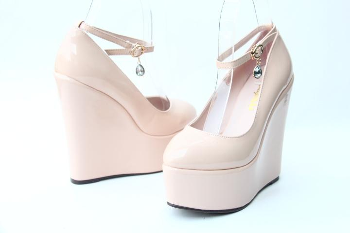 """Sissy Lucy"" Wedge Pumps Sissy Panty Shop"