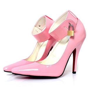 """Sissy Ginger"" Lockable Pumps Sissy Panty Shop"