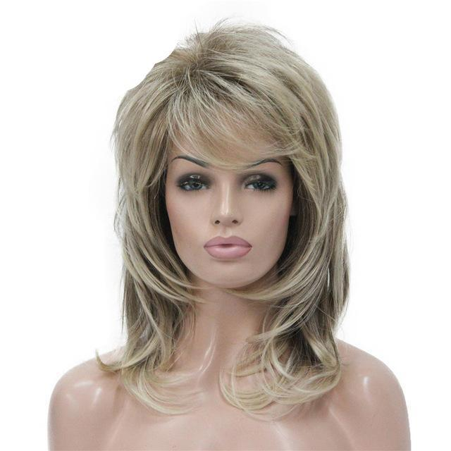 """Sissy Claudette"" Shaggy Layered Wig Sissy Panty Shop Blonde 16inches"