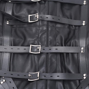 Max Security Straight Jacket with Crotch Strap Sissy Panty Shop