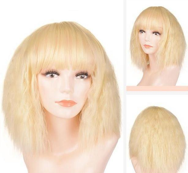 """Tranny Maria"" Wig Sissy Panty Shop #3 10 inches"
