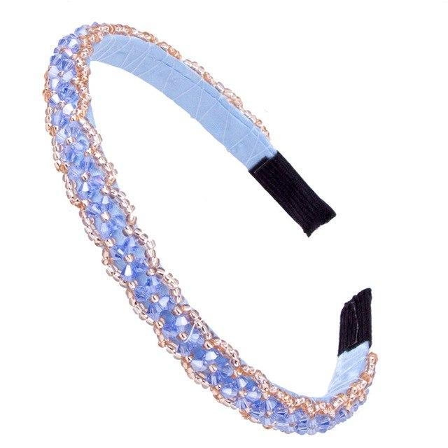 """Sissy Nora"" Crystal Hairband Sissy Panty Shop Sky blue"