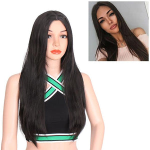 """Sissy Jennifer"" Long Straight Ombre Wig Sissy Panty Shop Black 26inches"