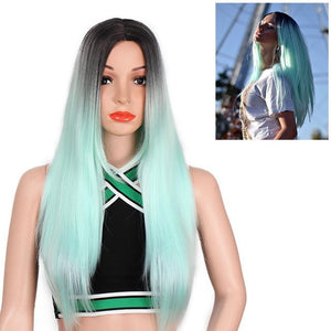 """Sissy Jennifer"" Long Straight Ombre Wig Sissy Panty Shop Not Dyed 26inches"