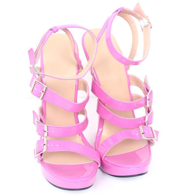 """Sissy Bridgett"" Wedge Sandals Sissy Panty Shop"