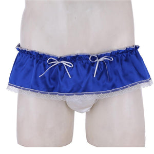 """Sissy Nancy"" Satin Panties The Sissy Panty Shop"