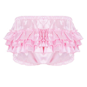 """Sissy Rose"" Ruffled Panties The Sissy Panty Shop"
