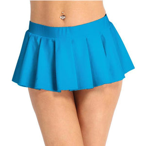 Schoolgirl Pleated Mini Skirt Sissy Panty Shop Sky Blue M