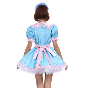 Sissy Maid Baby Blue Uniform The Sissy Panty Shop
