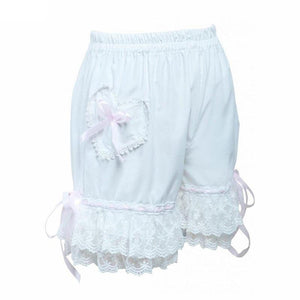 Bow Lace Lolita Cotton Bloomers Sissy Panty Shop