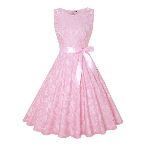 """Sissy Lola"" Pink Lace Dress"