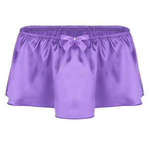 """Sissy Rose"" Skirted Panties Sissy Panty Shop Purple M"