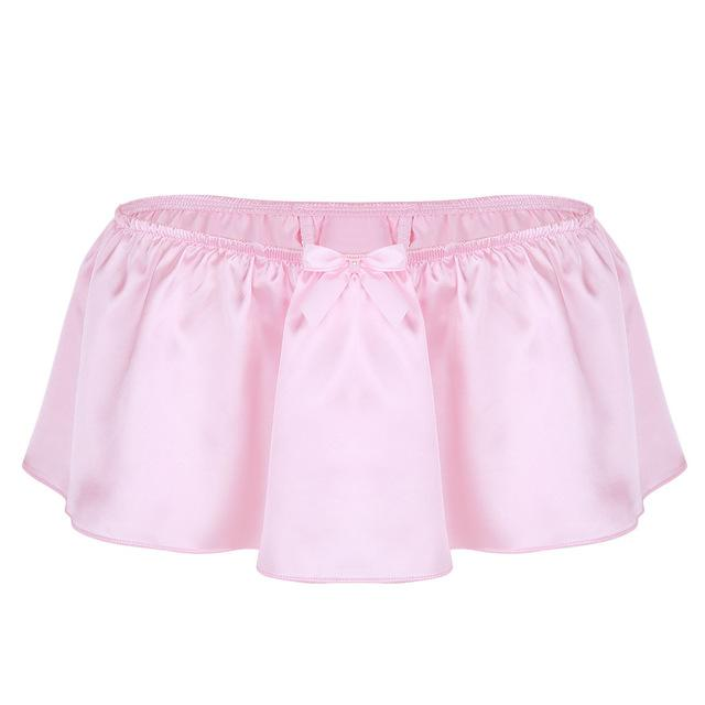 """Sissy Rose"" Skirted Panties Sissy Panty Shop Pink M"