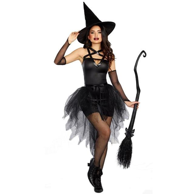 Witch Costume Sissy Panty Shop black M