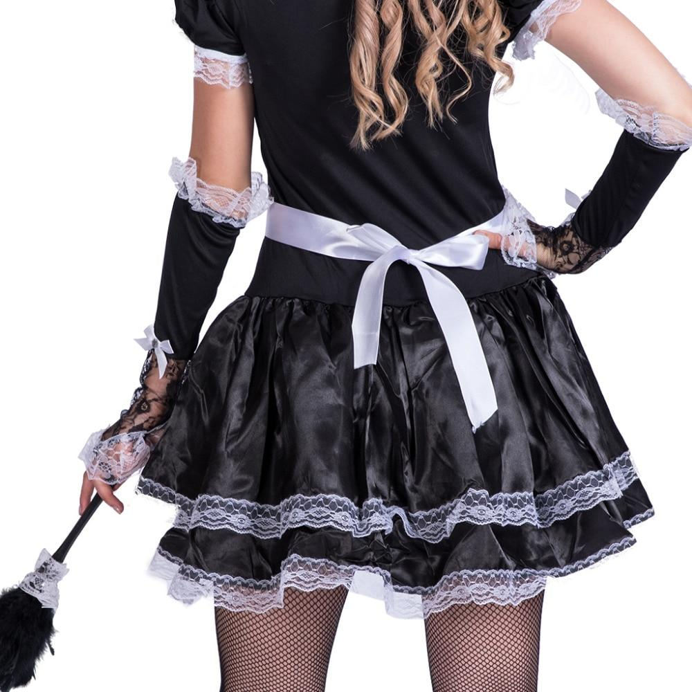 Satin French Maid Uniform Sissy Panty Shop
