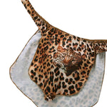 Leopard Loincloth Thong Sissy Panty Shop